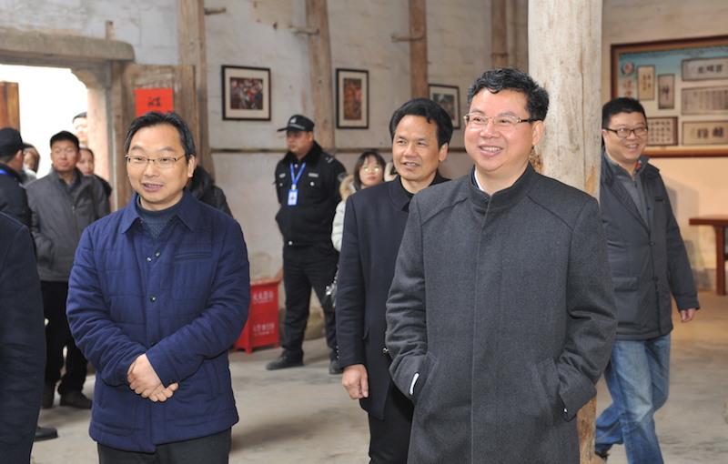 Jinhua Municipality's Mayor Ji Junmin in Siping