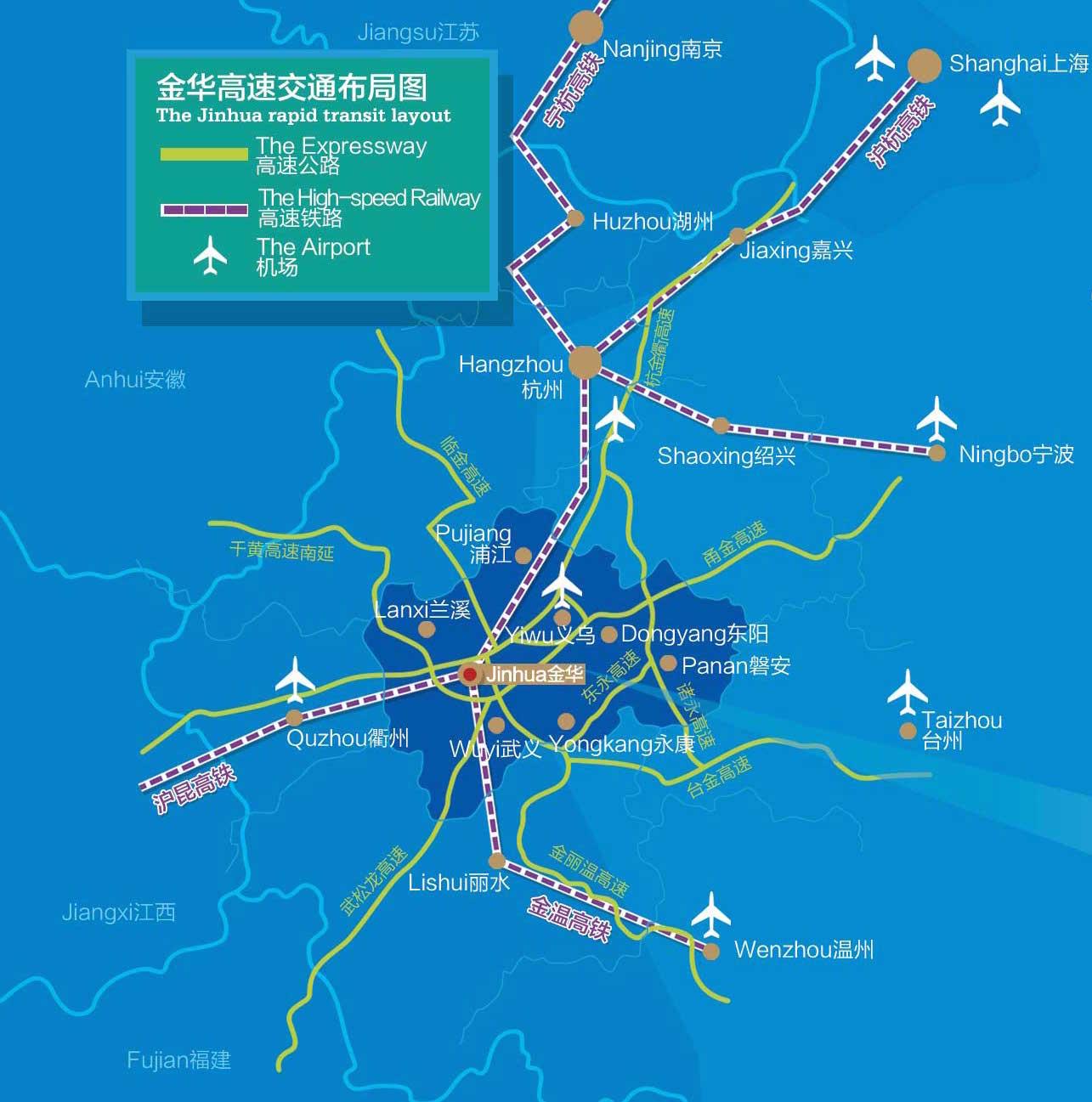 Jinhua Jinhua Homestay - Zhuji map